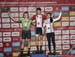 Junior Womens podium 		CREDITS:  		TITLE: 2019 Canadian National Cyclocross Championships 		COPYRIGHT: Robert Jones/Canadiancyclist.com