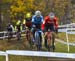 Michael van den Ham leads the early lead bunch 		CREDITS:  		TITLE: 2019 Cyclocross National Championships 		COPYRIGHT: Rob Jones/www.canadiancyclist.com 2019 -copyright -All rights retained - no use permitted without prior, written permission