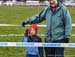 A young fan enjoys the racing 		CREDITS:  		TITLE: 2019 Cyclocross National Championships 		COPYRIGHT: Rob Jones/www.canadiancyclist.com 2019 -copyright -All rights retained - no use permitted without prior, written permission