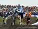 Wout Van Aert (Belgium) and Mathieu van der Poel (Netherlands) 		CREDITS:  		TITLE: 2019 Cyclocross World Championships, Denmark 		COPYRIGHT: Rob Jones/www.canadiancyclist.com 2019 -copyright -All rights retained - no use permitted without prior, written