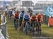Dutch and Belgian squads at the front at start 		CREDITS:  		TITLE: 2019 Cyclocross World Championships, Denmark 		COPYRIGHT: Rob Jones/www.canadiancyclist.com 2019 -copyright -All rights retained - no use permitted without prior, written permission