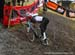 Neff has a bit of trouble on the off camber section 		CREDITS:  		TITLE: 2019 Cyclocross World Championships, Denmark 		COPYRIGHT: Rob Jones/www.canadiancyclist.com 2019 -copyright -All rights retained - no use permitted without prior, written permission