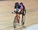 Ashlyn Eddy/Alana Ziobroski  		CREDITS:  		TITLE: 2019 Canadian Junior, U17 and Para Track Championships 		COPYRIGHT: Rob Jones/www.canadiancyclist.com 2019 -copyright -All rights retained - no use permitted without prior, written permission
