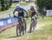 Carter Woods took Canada into 2nd place 		CREDITS:  		TITLE: Team Relay World MTB Championships, 2019 		COPYRIGHT: Rob Jones/www.canadiancyclist.com 2019 -copyright -All rights retained - no use permitted without prior, written permission
