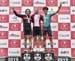 Junior Men podium: Matisse Julien, Raphael Parisella, Lukas Carreau 		CREDITS:  		TITLE: Road National Championships, 2019 		COPYRIGHT: Rob Jones/www.canadiancyclist.com 2019 -copyright -All rights retained - no use permitted without prior, written permis