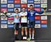 Remco Evenepoel, Rohan Dennis, Filippo Ganna 		CREDITS:  		TITLE: 2019 Road World Championships 		COPYRIGHT: Rob Jones/www.canadiancyclist.com 2019 -copyright -All rights retained - no use permitted without prior, written permission
