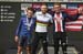 Alessio Martinelli, Quinn Simmons, Magnus Sheffield 		CREDITS:  		TITLE: 2019 Road World Championships 		COPYRIGHT: BART HAZEN