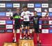 World Cup overall: Henrique Avancini, Nino Schurter, Jordan Sarrou (absent Mathieu van der Poel 2nd, Mathias Flueckiger 4th) 		CREDITS:  		TITLE: 2019 World Cup Final, Snowshoe WV 		COPYRIGHT: Rob Jones/www.canadiancyclist.com 2019 -copyright -All rights