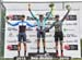 Stage podium: l to r: Adam Roberge, Serghei Tvetcov, Brendan Rhim 		CREDITS:  		TITLE: Tour de Beauce, 2019 		COPYRIGHT: Rob Jones/www.canadiancyclist.com 2019 -copyright -All rights retained - no use permitted without prior, written permission
