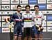 Benjamin Thomas, Campbell Stewart, Ethan Hayter 		CREDITS:  		TITLE: 2019 Track World Championships, Poland 		COPYRIGHT: Rob Jones/www.canadiancyclist.com 2019 -copyright -All rights retained - no use permitted without prior, written permission