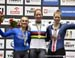 Letizia Paternoster, Kirsten Wild, Jennifer Valente 		CREDITS:  		TITLE: 2019 Track World Championships, Poland 		COPYRIGHT: Rob Jones/www.canadiancyclist.com 2019 -copyright -All rights retained - no use permitted without prior, written permission