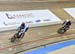 1/16 Final: Hugo Barrette (Canada) vs Quentin Caleyron (France) 		CREDITS:  		TITLE: 2019 Track World Championships, Poland 		COPYRIGHT: Rob Jones/www.canadiancyclist.com 2019 -copyright -All rights retained - no use permitted without prior, written permi