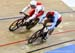 1/8 Final Heat: Mateusz Rudyk (Poland) vs  Hugo Barrette (Canada) 		CREDITS:  		TITLE: 2019 Track World Championships, Poland 		COPYRIGHT: Rob Jones/www.canadiancyclist.com 2019 -copyright -All rights retained - no use permitted without prior, written per