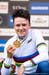 World Champion Thomas Pidcock (Great Britain) 		CREDITS:  		TITLE: 2020 Mountain Bike World Championships, U23 men 		COPYRIGHT: