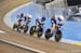 Team pursuit qualifying, Milton, Ontario, (Photo by Casey B. Gibson) 		CREDITS:  		TITLE: 2020 UCI Track World Cup, Milton, Ontario 		COPYRIGHT: © Casey B. Gibson 2020