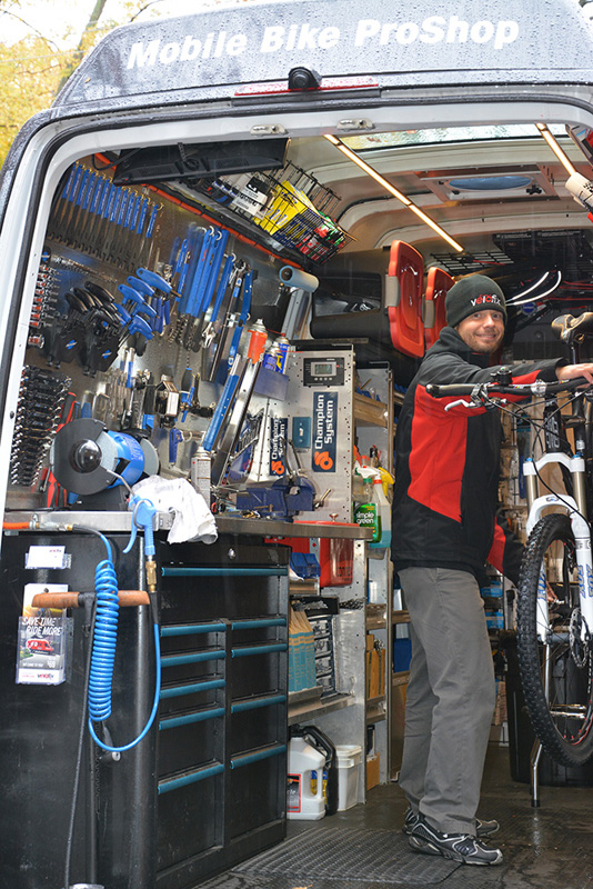 Canadian Cyclist Velofix Mobile Bike Repair Service Coming